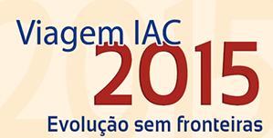 Viagem IAC 2015